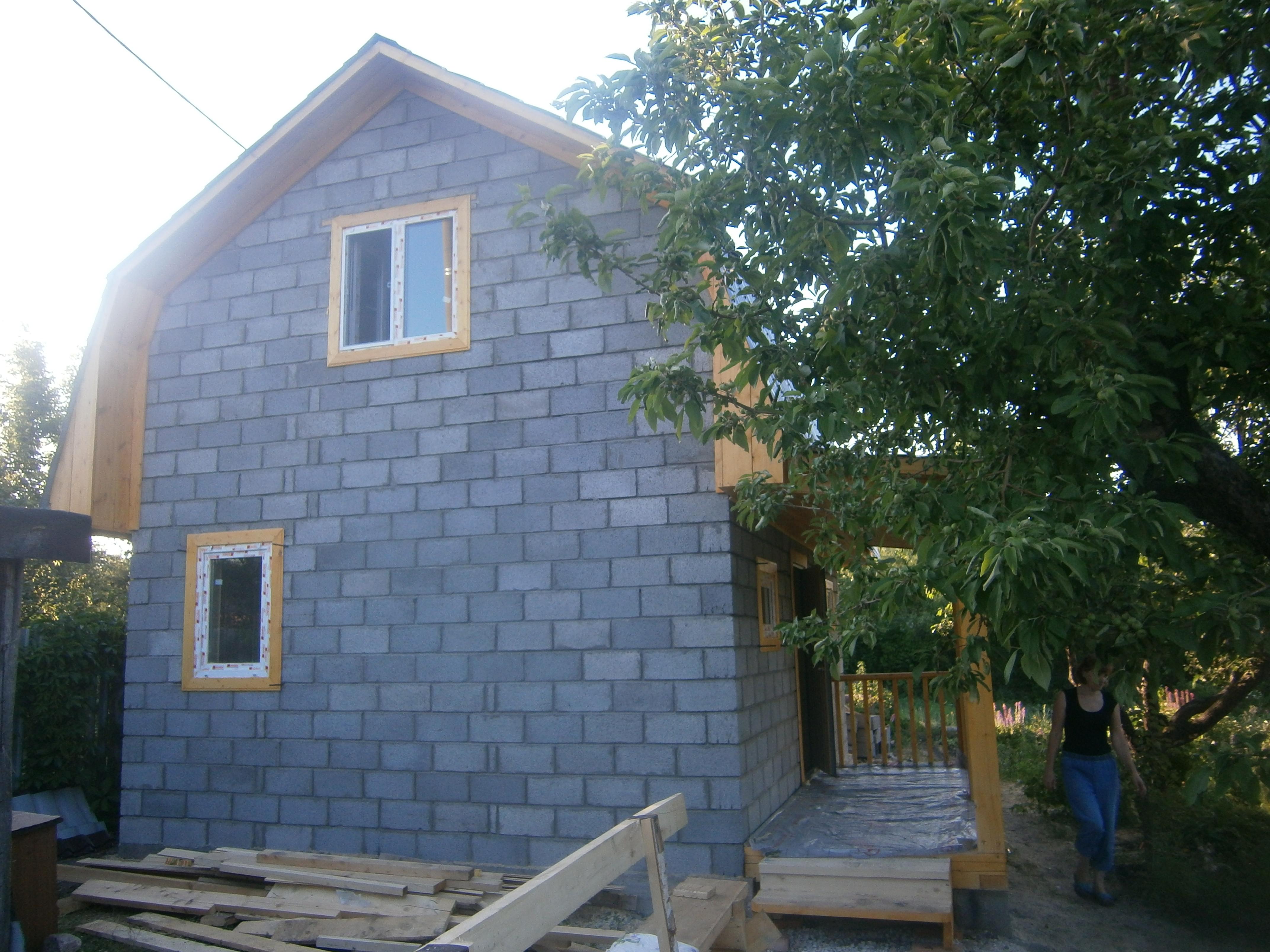 Дачный домик из керамзитобетона вибраторы для бетона купить в белгороде