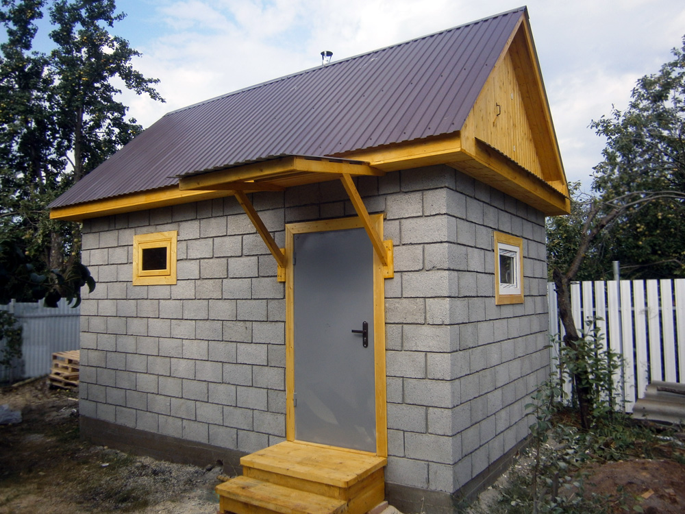 Баня под ключ из керамзитобетона бетон лыткарино купить